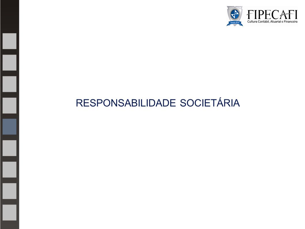 RESPONSABILIDADE SOCIETÁRIA