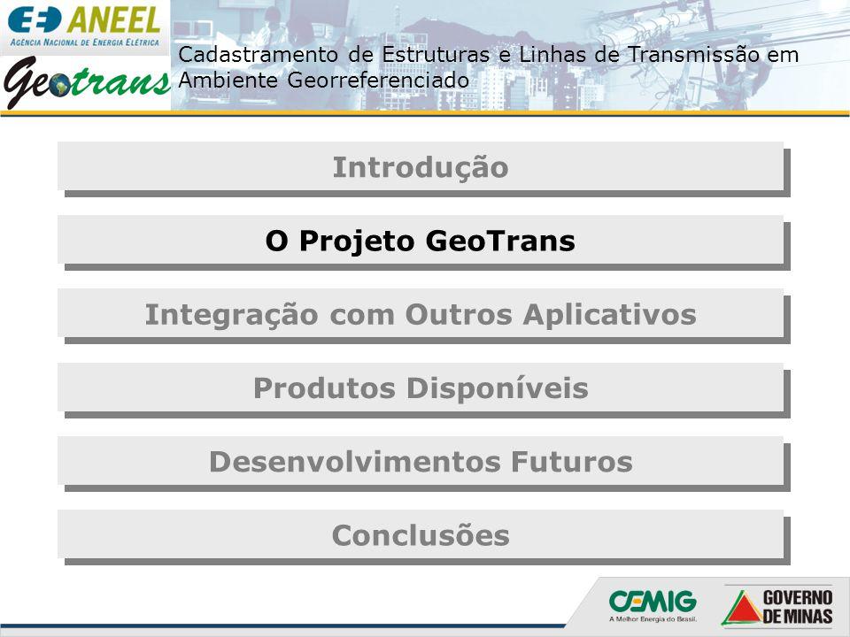 Cadastramento de Estruturas e Linhas de Transmissão em Ambiente Georreferenciado Transferência dos dados e pós-processamento