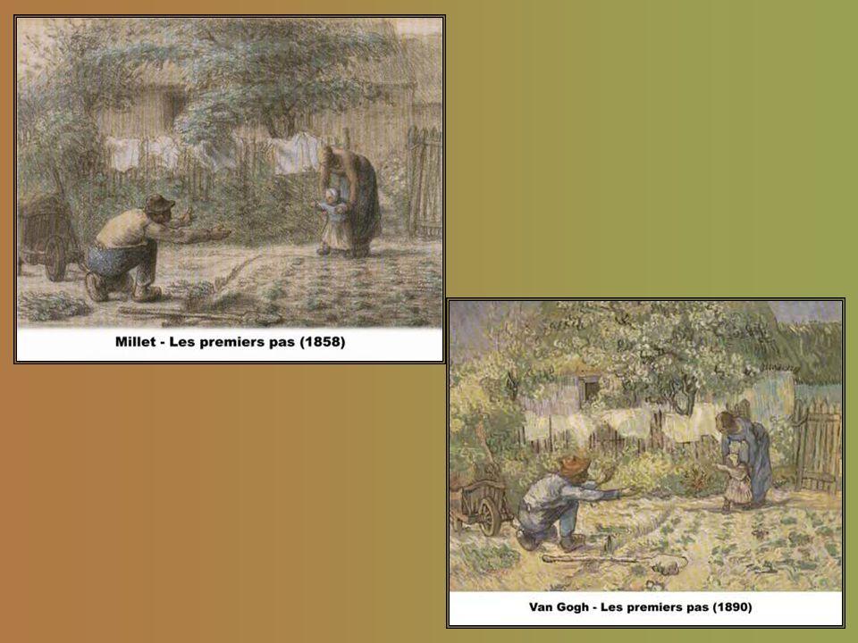 """"""" """"Et je le répète, écrit Van Gogh, alors âge de trente-deux ans, á son frère Theo: Millet, c'est Millet, le pére, c. à d. qu'il est guide et conseill"""