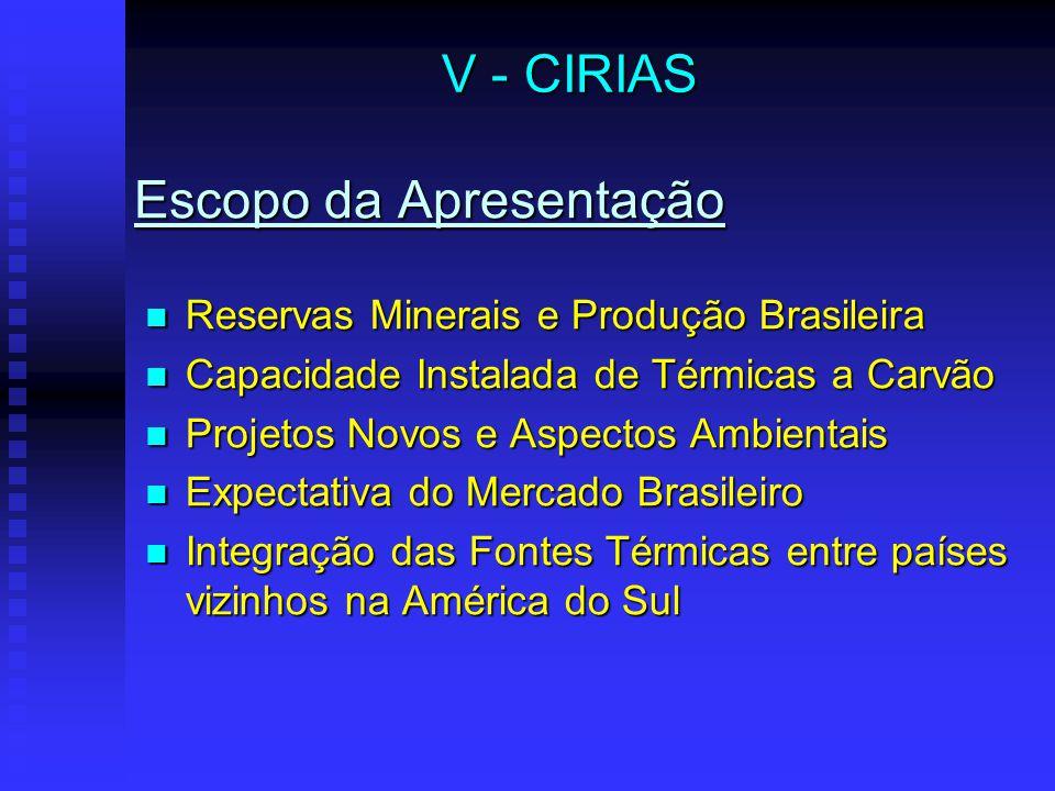 Expectativa de Mercado Brasileiro V - CIRIAS