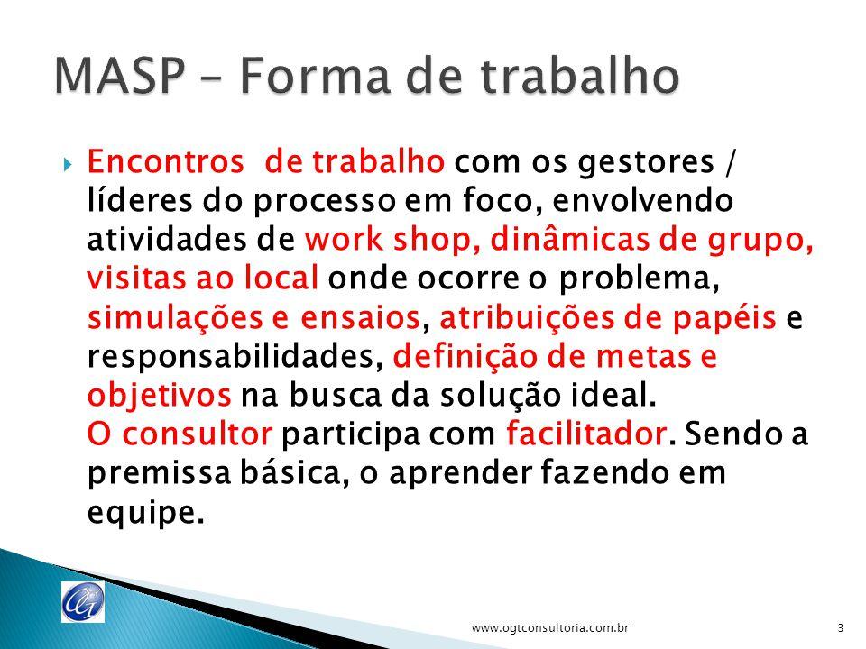  Gestores / líderes e pessoas chave do processo em foco www.ogtconsultoria.com.br4