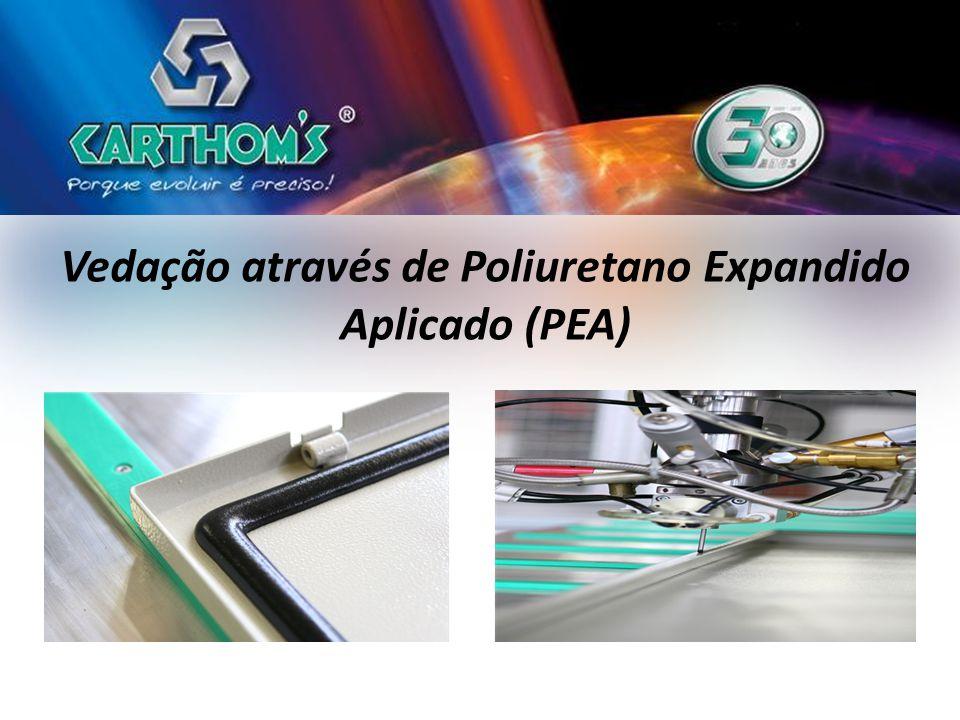 Vedação através de Poliuretano Expandido Aplicado (PEA)
