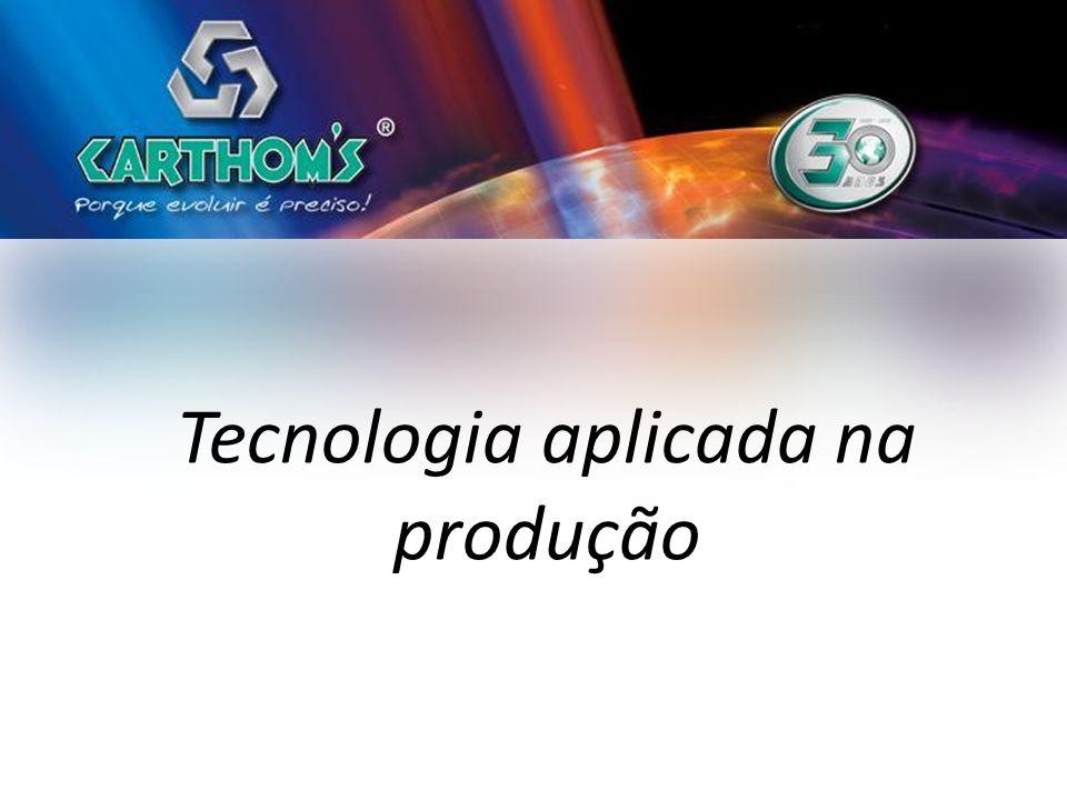Tecnologia aplicada na produção
