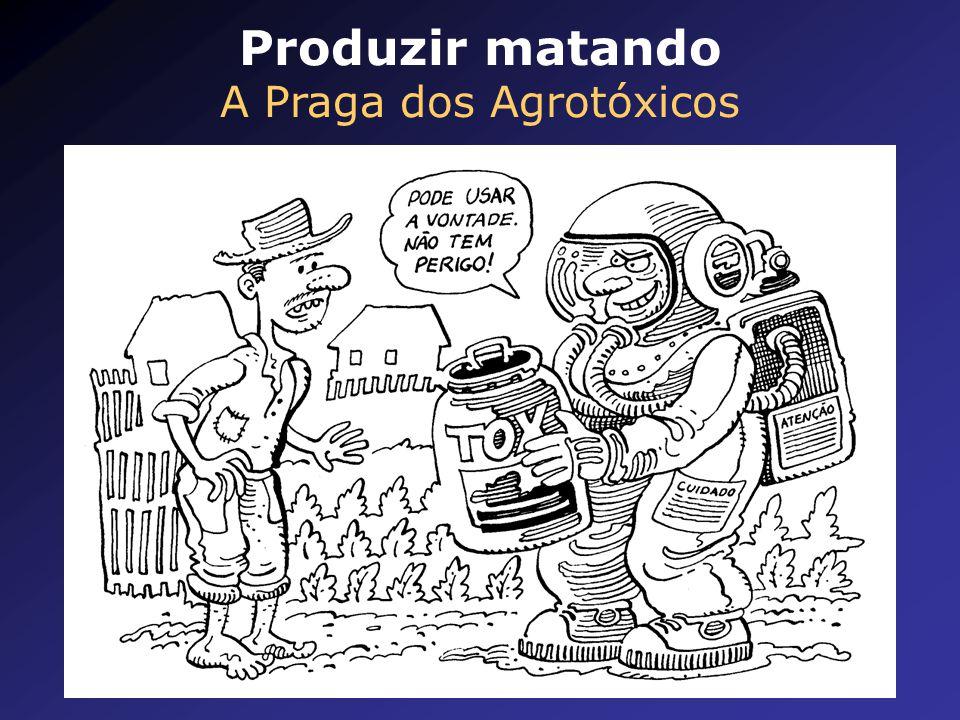 Produzir matando A Praga dos Agrotóxicos