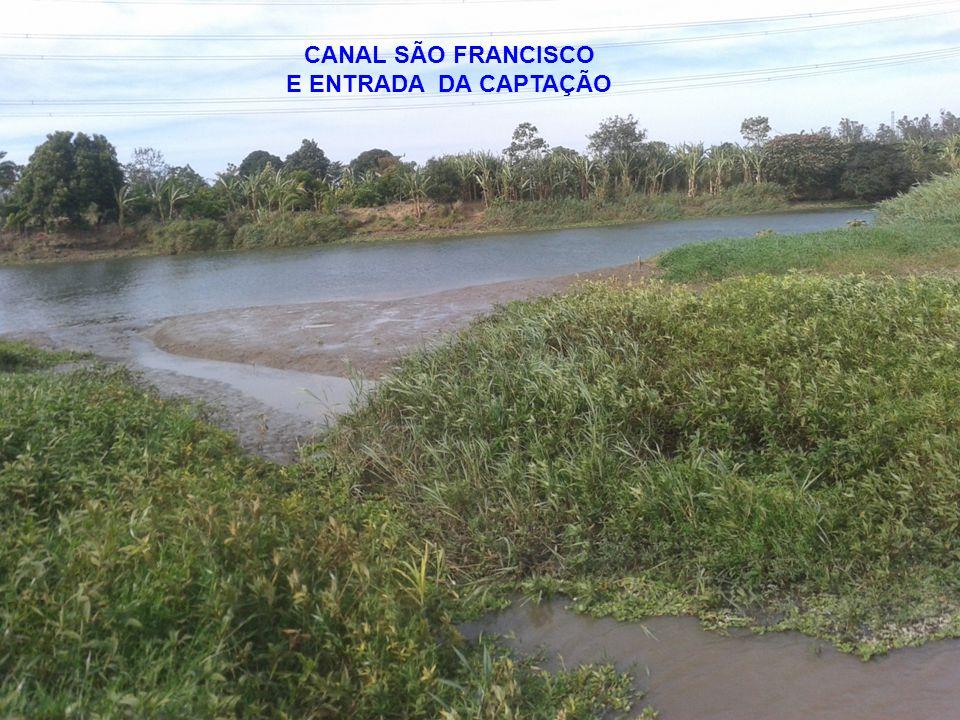 4 CANAL SÃO FRANCISCO E ENTRADA DA CAPTAÇÃO