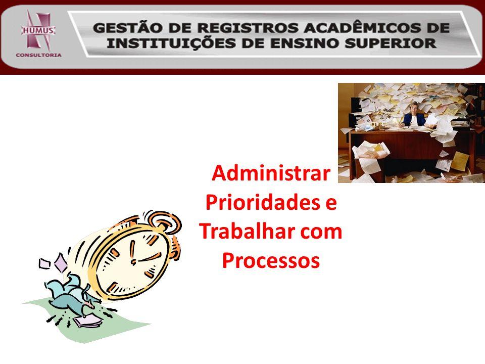 Administrar Prioridades e Trabalhar com Processos