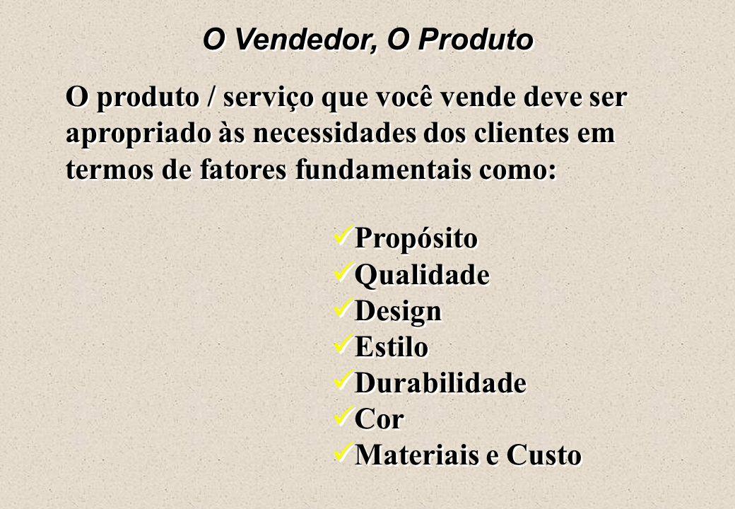  O que o produto é: característica – o que faz pelo cliente benefício – é o que o cliente ganha comprando o seu produto.  O que o produto é: caracte