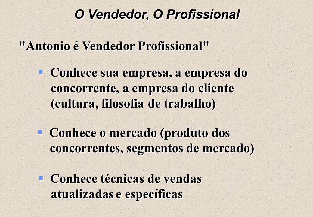 O Vendedor, O Produto ä Nenhum volume de lábia do vendedor, atenção pessoal ou promoção pode superar um produto defeituoso ou mal concebido. Na anális