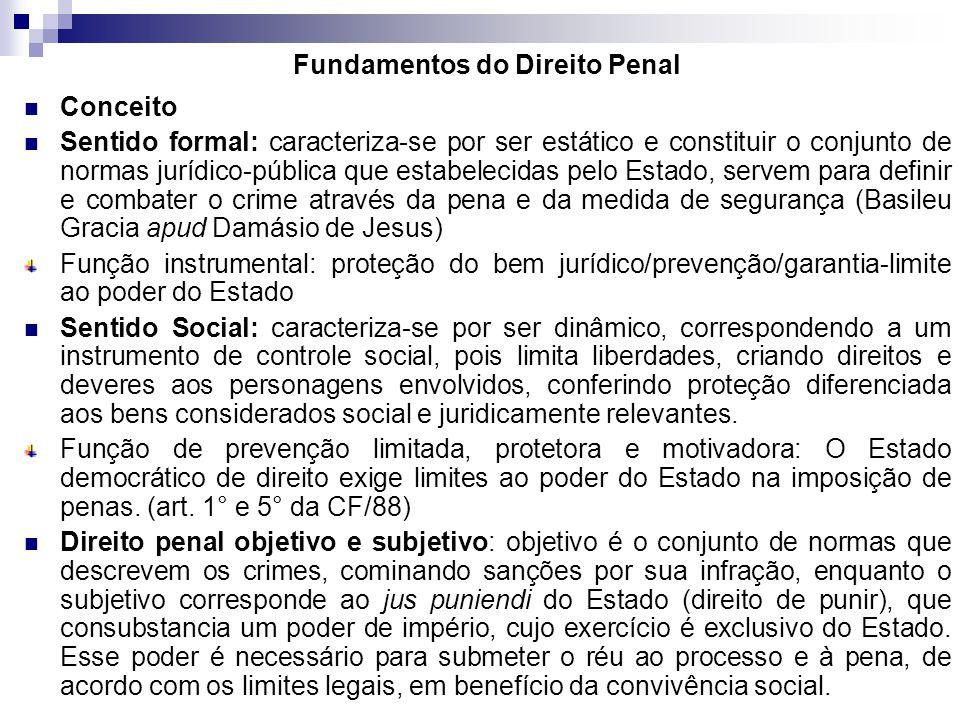 Conceito Sentido formal: caracteriza-se por ser estático e constituir o conjunto de normas jurídico-pública que estabelecidas pelo Estado, servem para