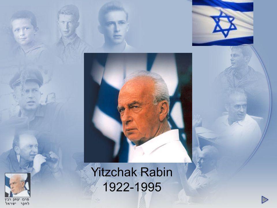 Yitzchak Rabin 1922-1995