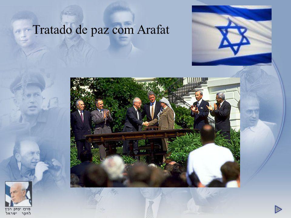 Tratado de paz com Arafat