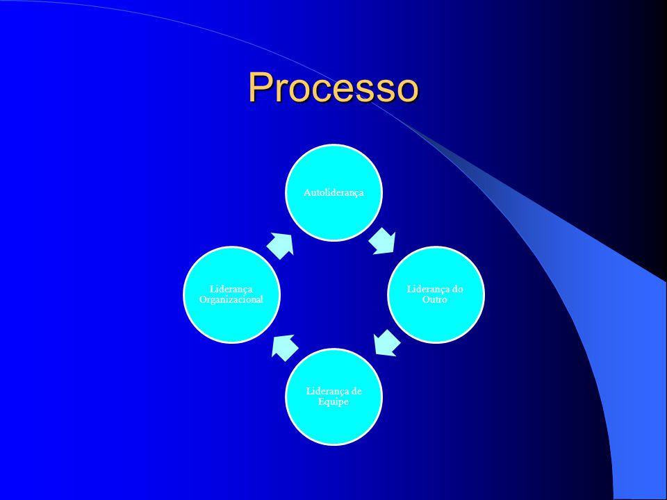 Processo Autoliderança Liderança do Outro Liderança de Equipe Liderança Organizacional