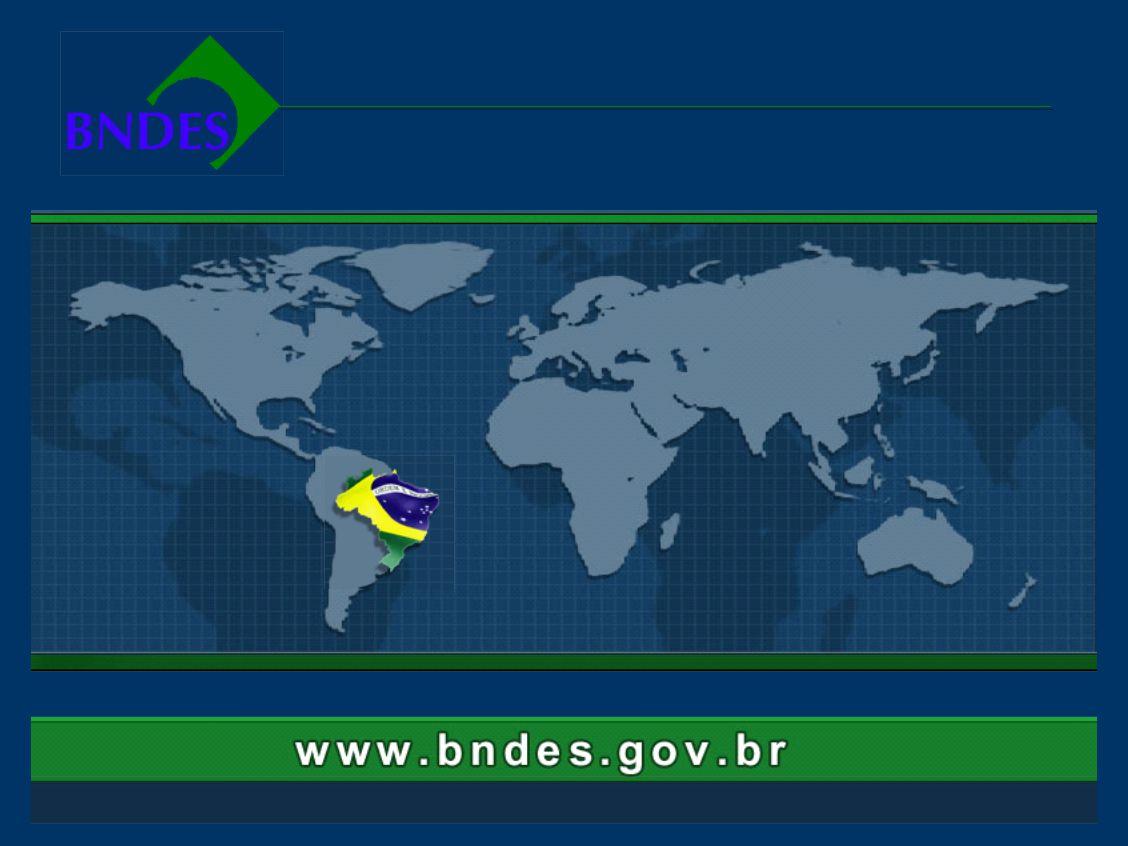 BNDES – Banco de Desenvolvimento do Brasil Integração Sul-Americana - CONCLUSÕES EXPORTAÇÃO DE BENS E SERVIÇOS BRASILEIROS MECANISMOS DE GARANTIAS PAR