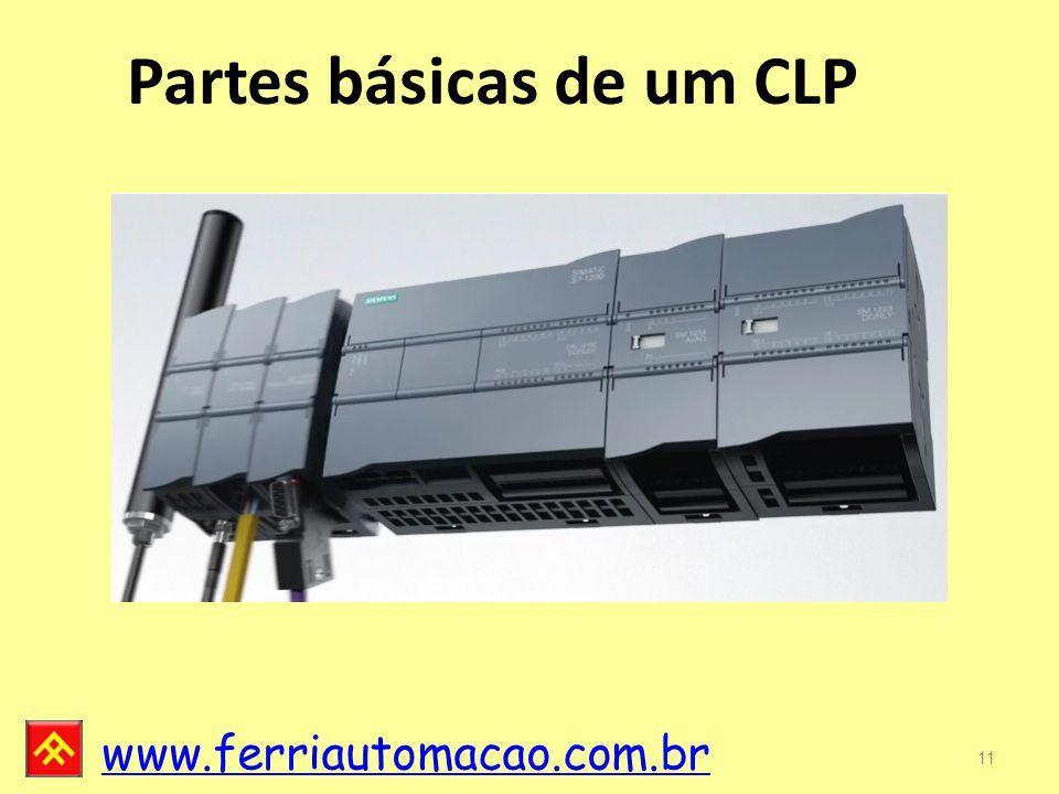 www.ferriautomacao.com.br Partes básicas de um CLP 11