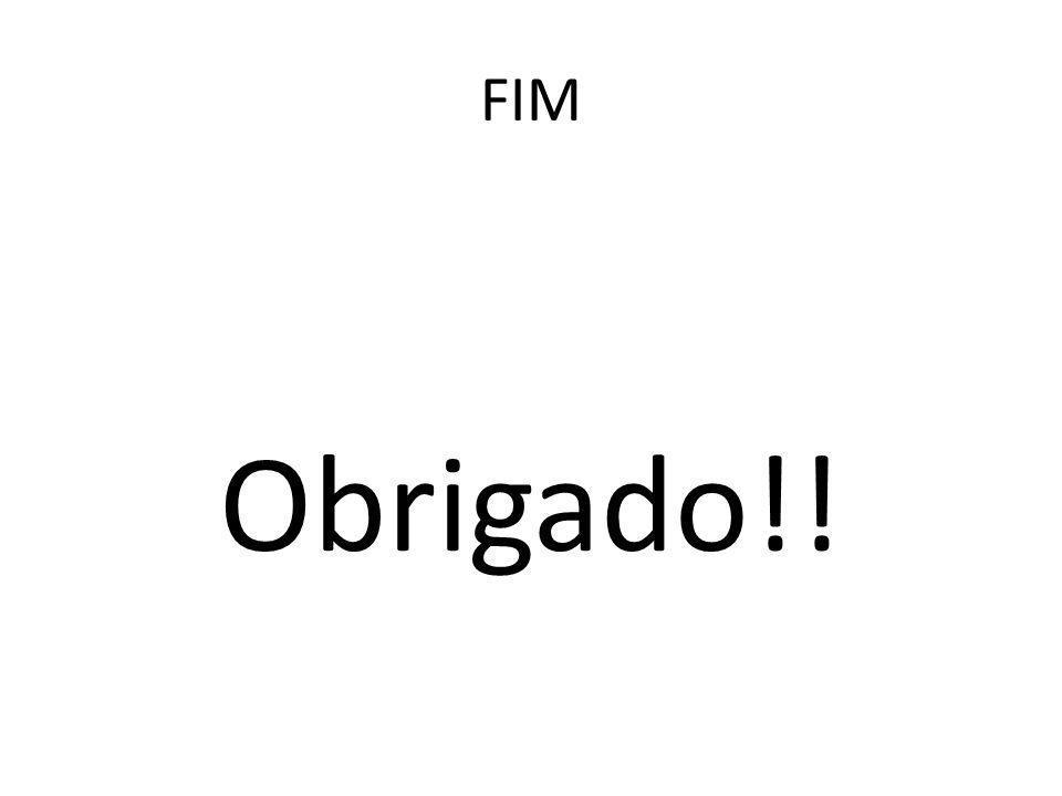 FIM Obrigado!!