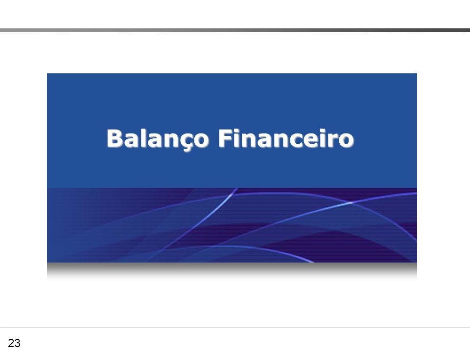 Balanço Financeiro 23 05.03.00 – Balanço Financeiro