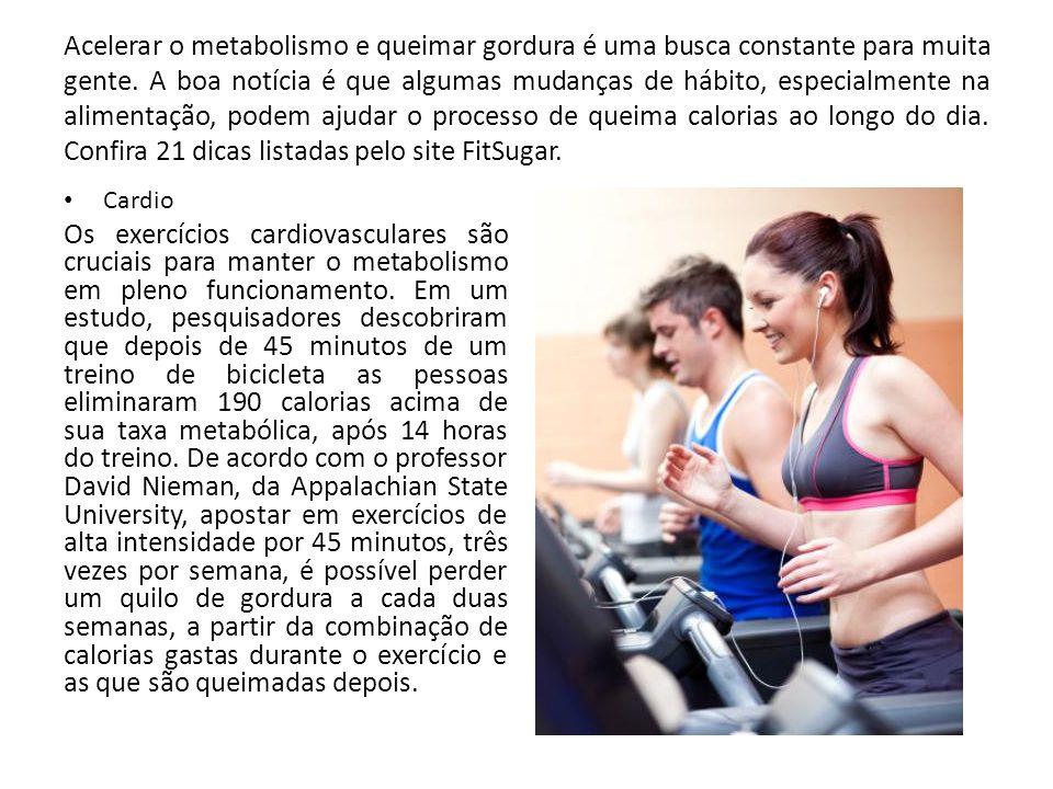 Acelerar o metabolismo e queimar gordura é uma busca constante para muita gente. A boa notícia é que algumas mudanças de hábito, especialmente na alim