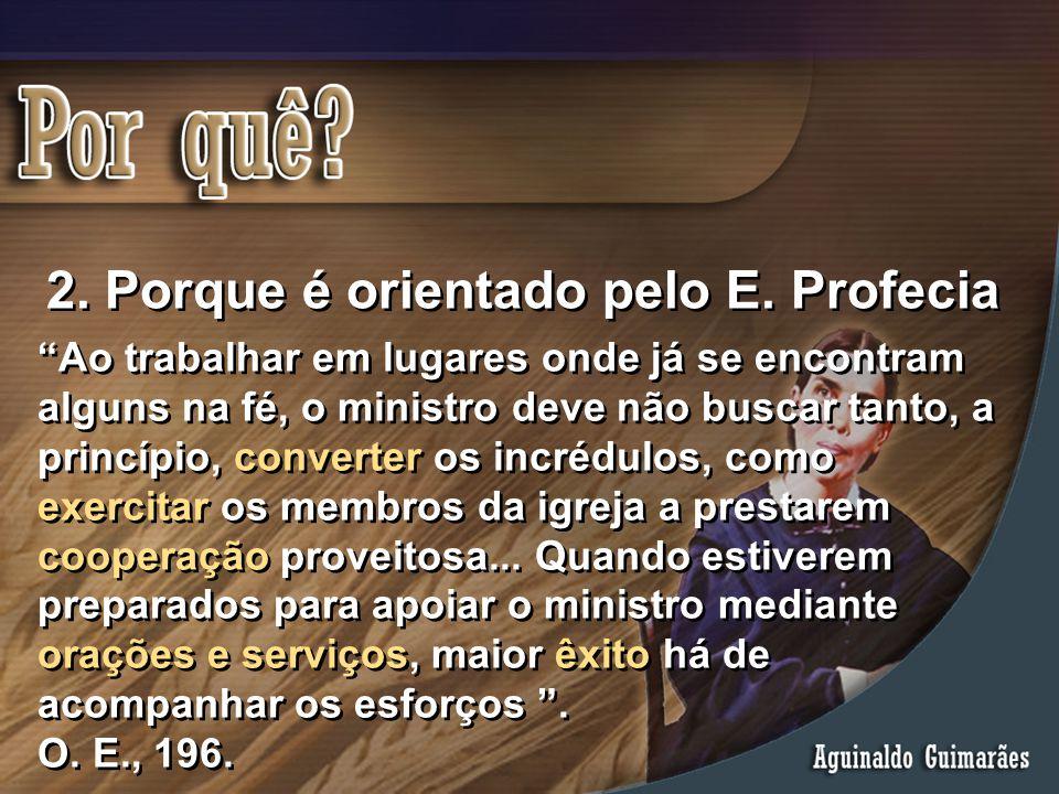 """""""Ao trabalhar em lugares onde já se encontram alguns na fé, o ministro deve não buscar tanto, a princípio, converter os incrédulos, como exercitar os"""