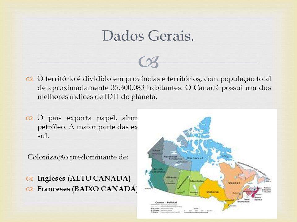  Dados Gerais.