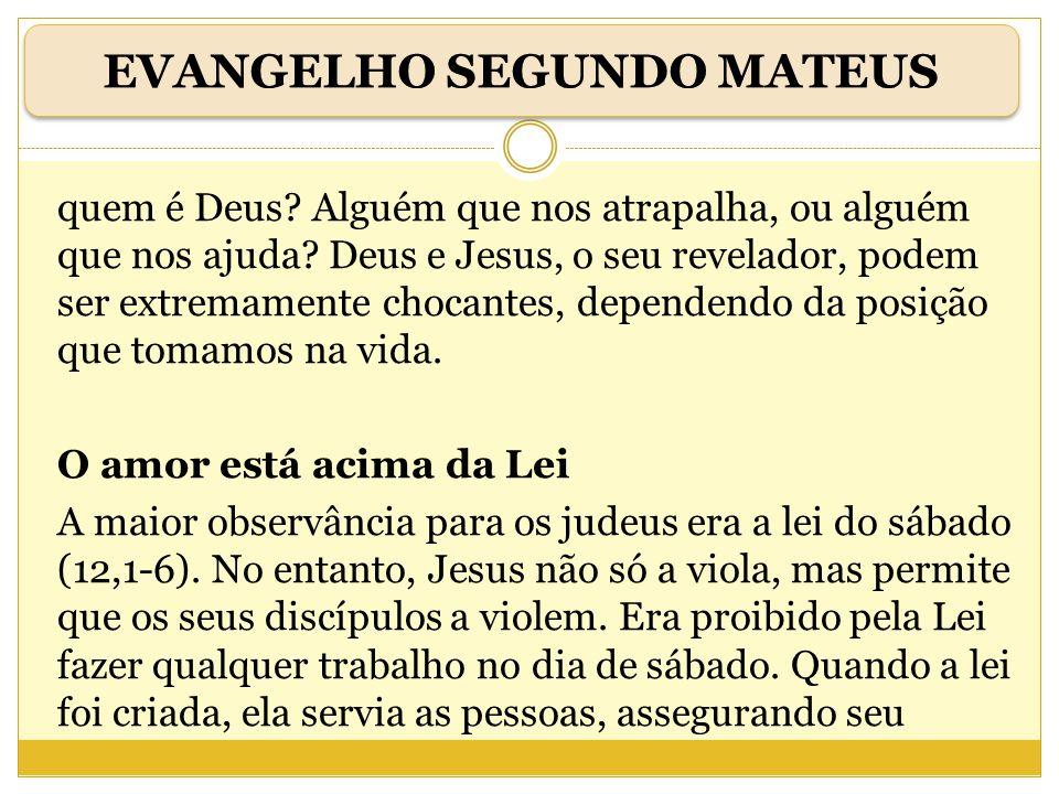 Jesus renova tudo A Bíblia é como baú, onde o povo de Deus guardou tudo (13,51-52).