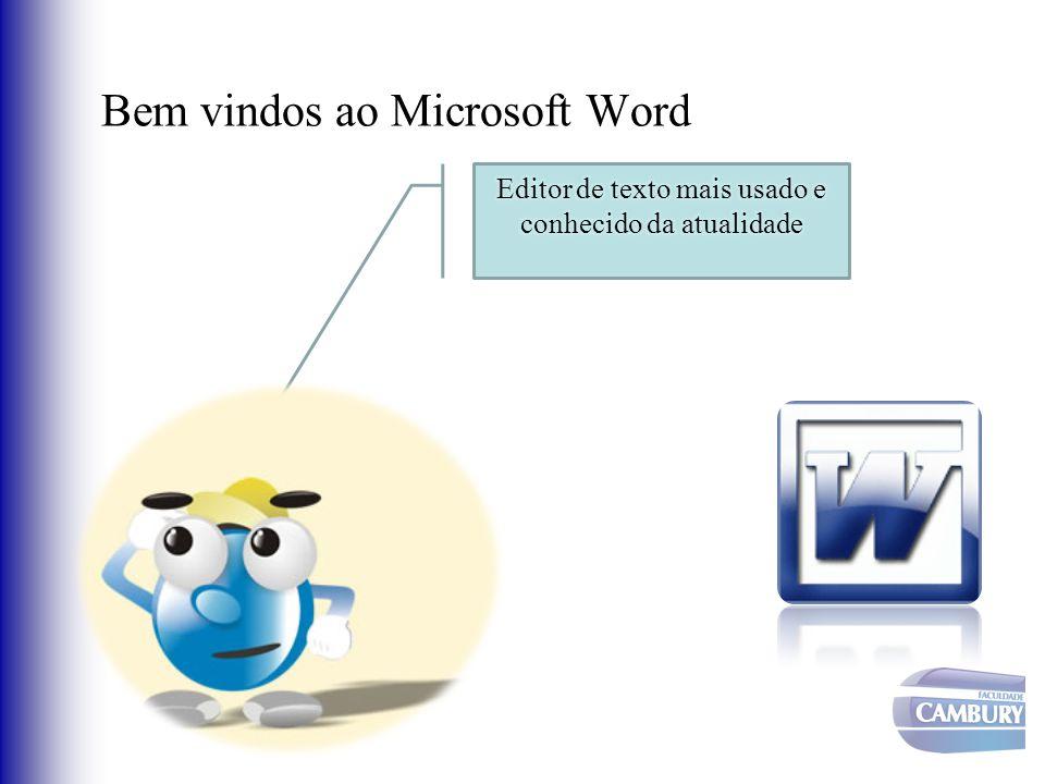 Bem vindos ao Microsoft Word