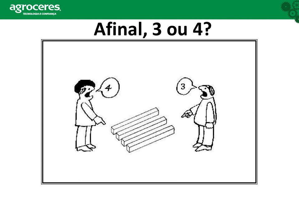 Afinal, 3 ou 4
