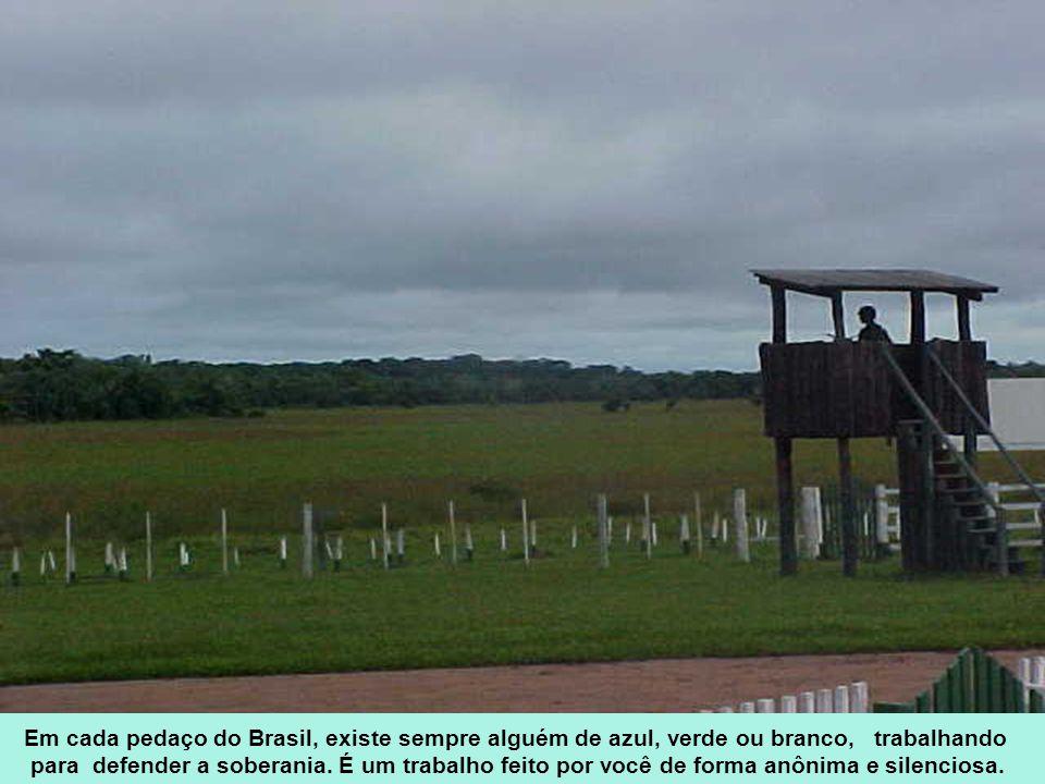 Você tem espírito forte e conteúdo na alma É um soldado de verdade Existe para defender o Brasil