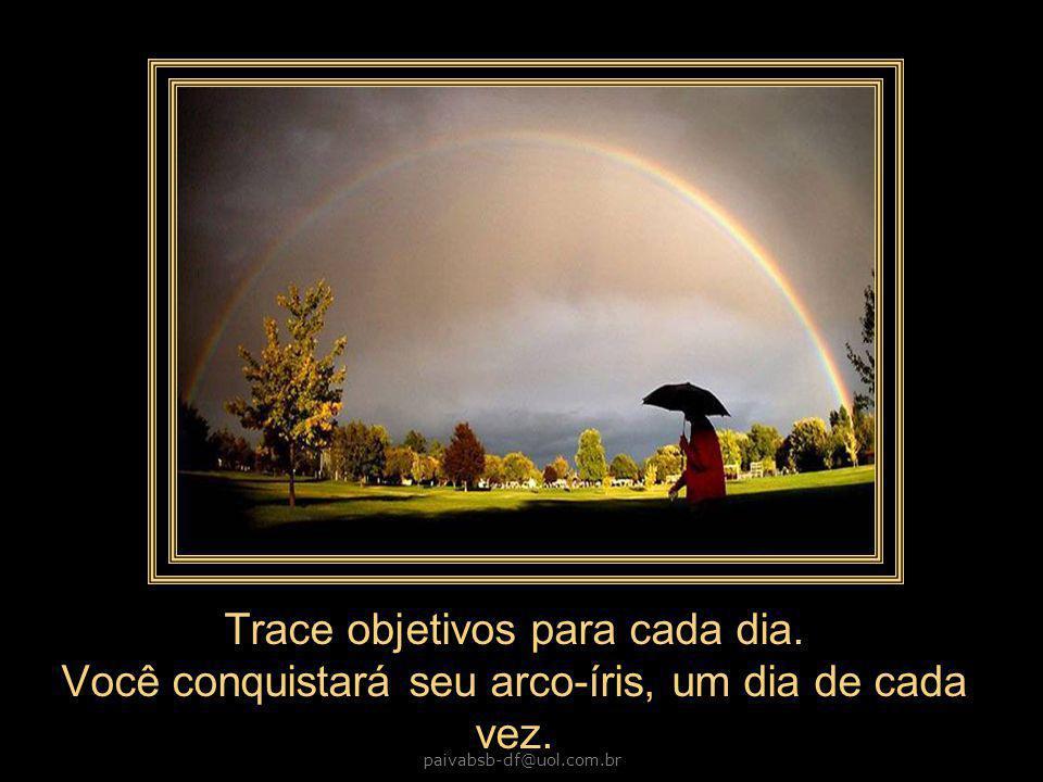 paivabsb-df@uol.com.br Trace objetivos para cada dia.