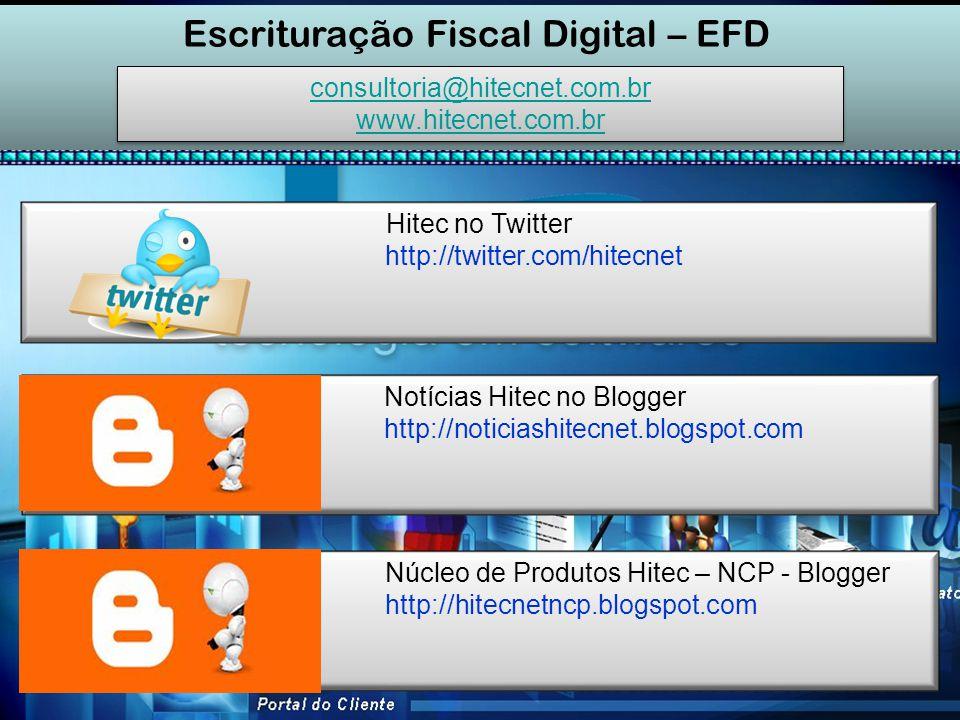SPED – Fiscal (EFD) Escrituração Fiscal Digital - EFD
