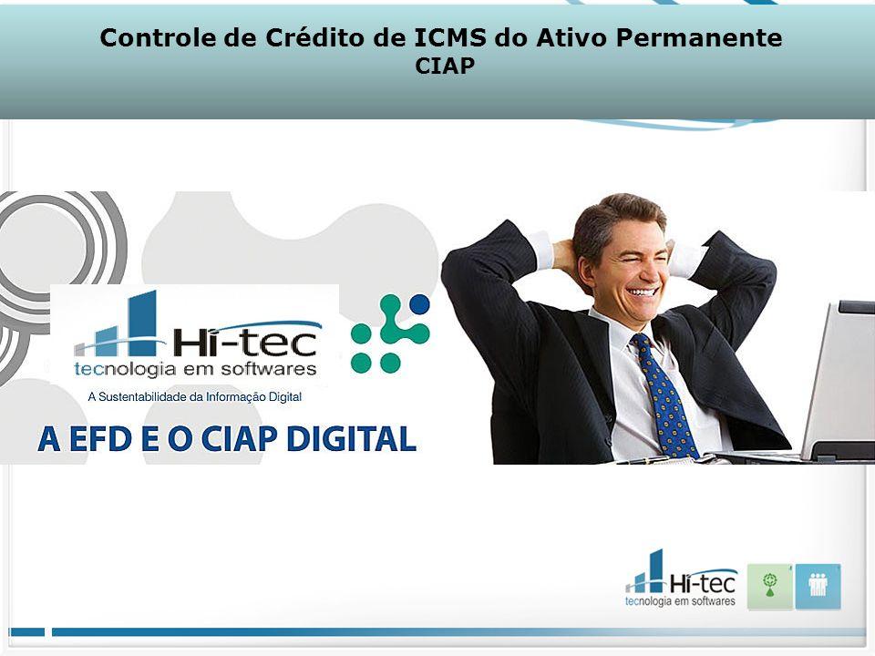 Controle de Crédito de ICMS do Ativo Permanente CIAP