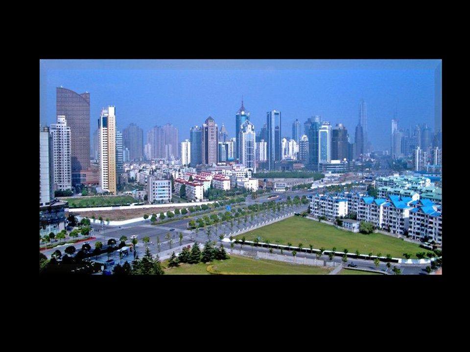 Shaghai zona de Pudong.