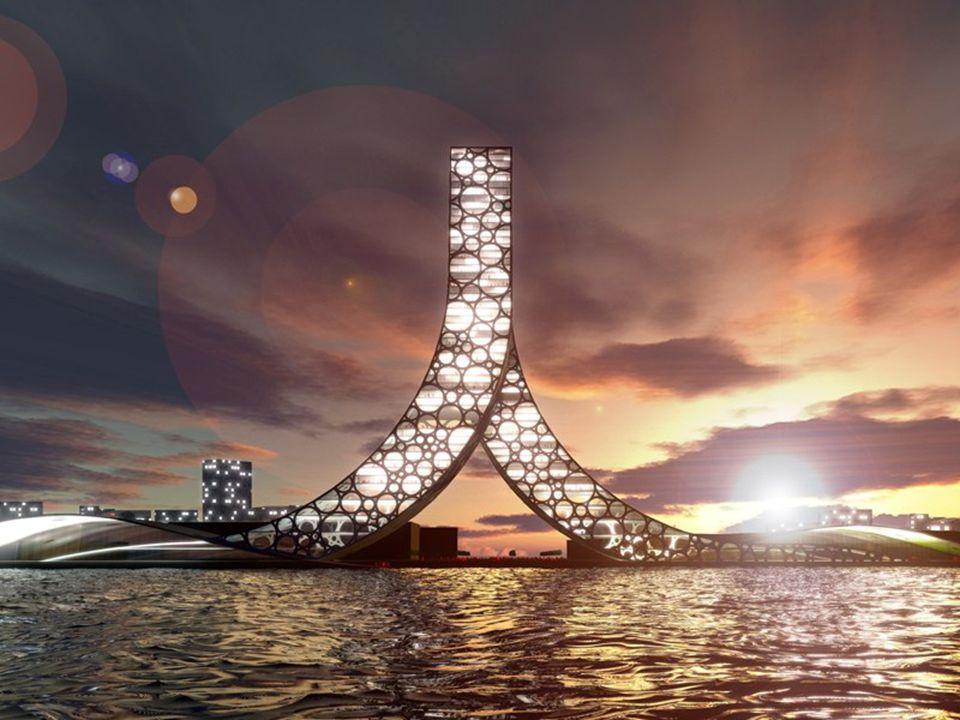 A equipe denominada PLOT = BIG JDS, composto por uma vinte arquitetos, é o criador de uma inovadora proposta para a Exposição Mundial de Shanghai que se celebrará em 2010.
