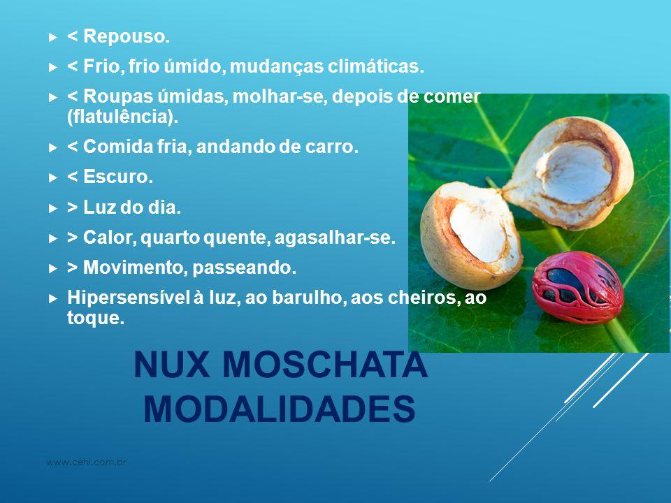 NUX MOSCHATA REFERENCIAIS www.cehl.com.br