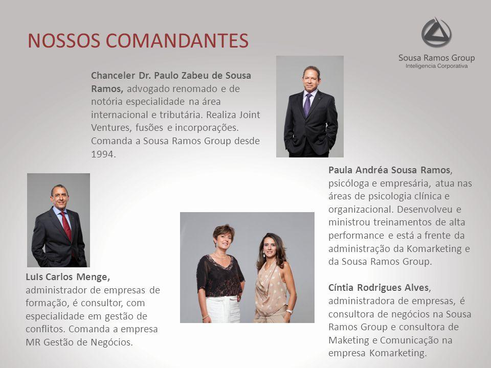 NOSSOS COMANDANTES Chanceler Dr.