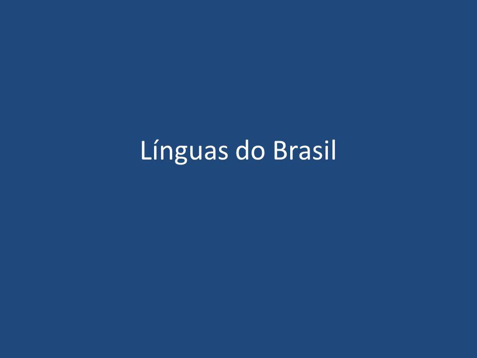 Línguas do Brasil