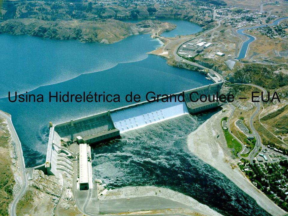 Usina Hidrelétrica de Grand Coulee – EUA
