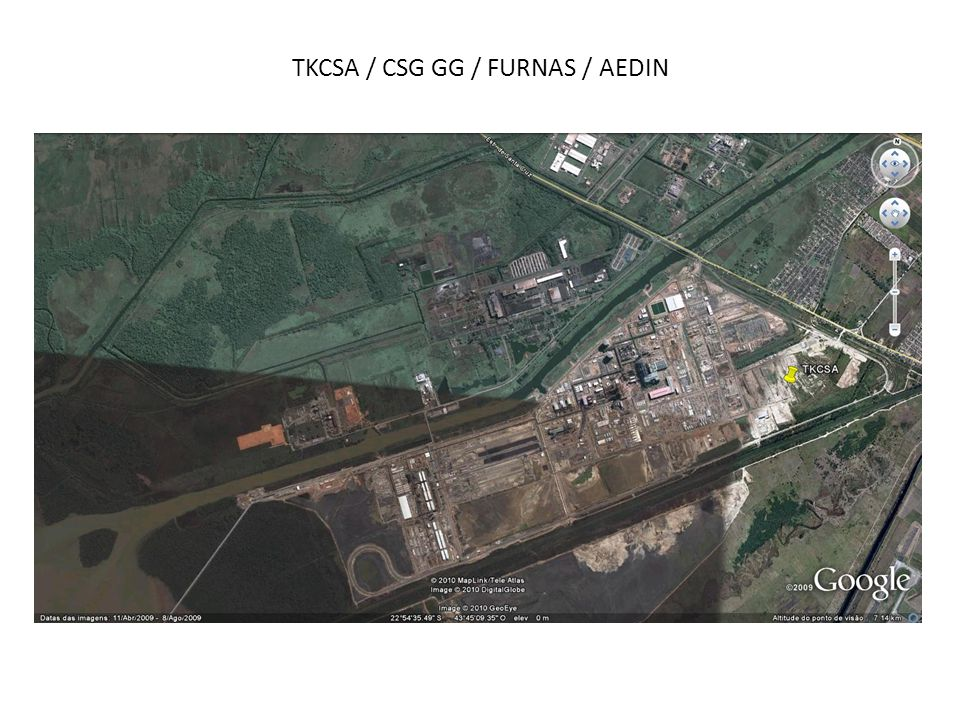 TKCSA / CSG GG / FURNAS / AEDIN
