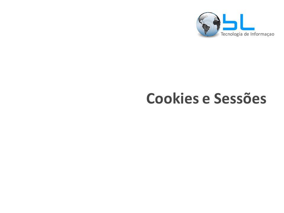 Cookies e Sessões