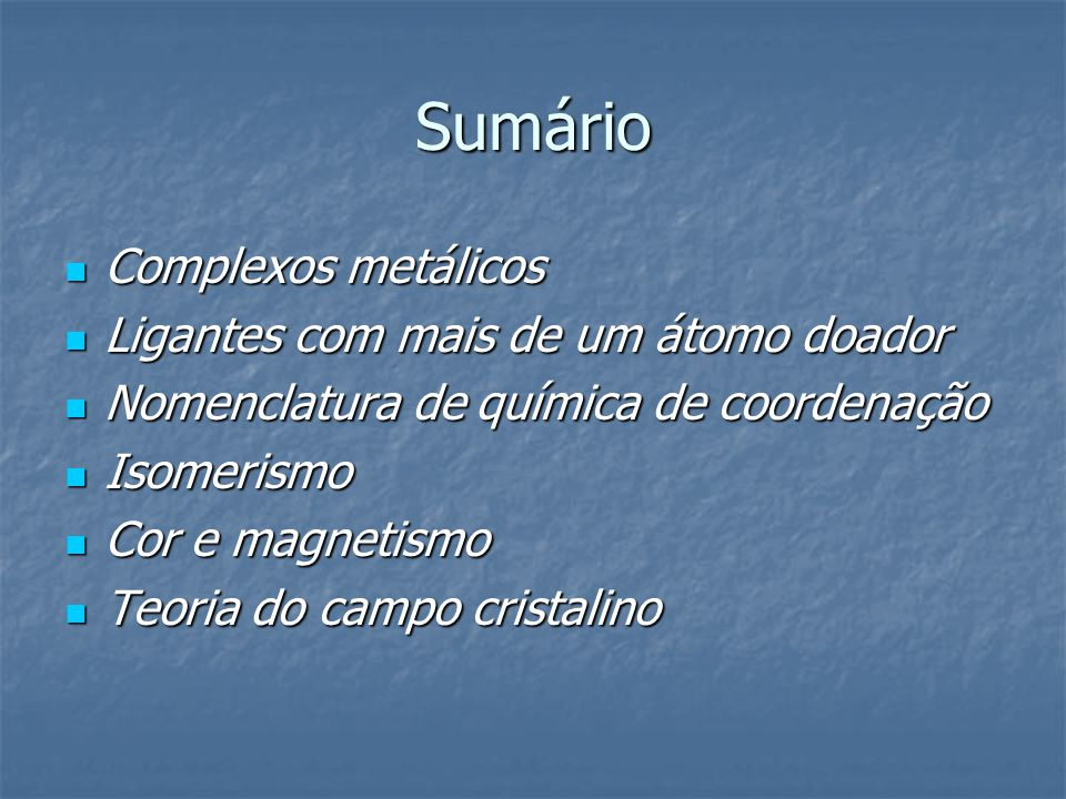 Isomerismo estrutural 1) Isomerismo de ligação.