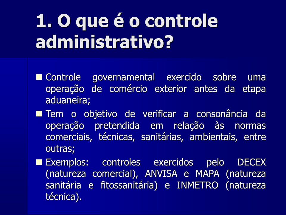 Requisitos para alteração do tratamento administrativo  Expedição de Instruções Técnicas e Operacionais;  Alimentação/desalimentação do tratamento administrativo no SISCOMEX.