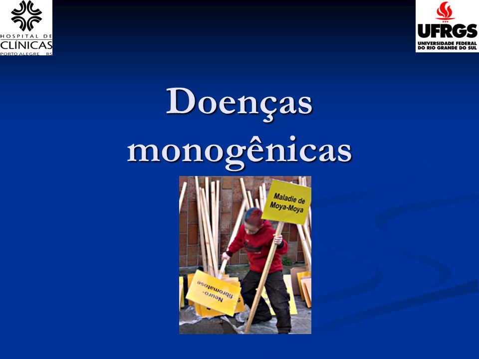 Doenças monogênicas Ida Vanessa D. Schwartz