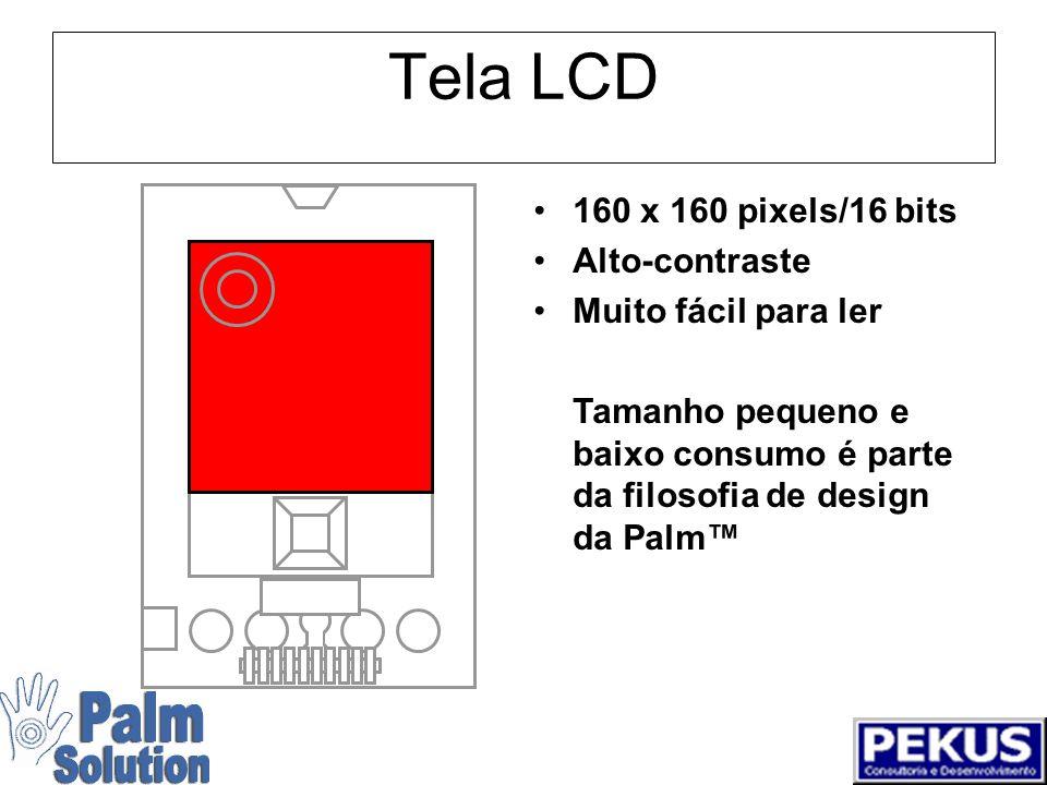 Porta Infravermelho Usa o protocolo IrDA padrão Pode Comunicar com qualquer dispositivo com IrCOMM Pode comunicar com outros dispositivos tbém