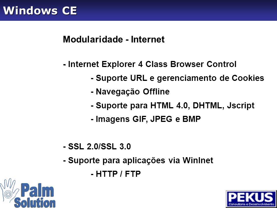Versão199719981999200020012002 CE 1.0 CE 2.0 CE 2.11 CE 3.0 CE 4.0 Windows CE