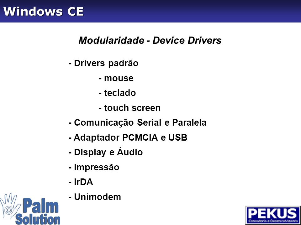 Base de Dados -WinCE Database -ADOCE -SQL CE -Oracle Lite Windows CE