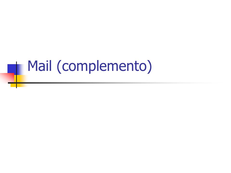 Mail (complemento)