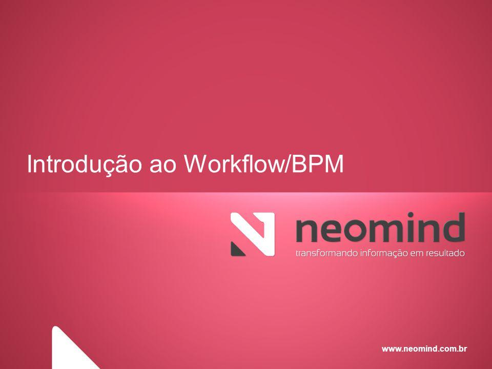Workflow/BPM - Gerenciador de Processos de Negócio Reduzir custos e aumentar a qualidade dos serviços prestados - Um produto completo para criação, simulação, execução e otimização dos processos de negócios, que possibilita a fácil interação com pessoas, documentos, equipamentos e sistemas.