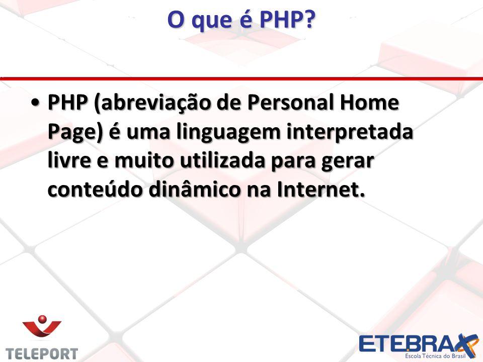 Iniciando um Projeto PHP