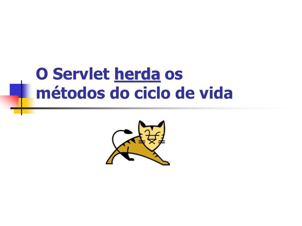 Classe Servlet: trecho de código public void doPost(HttpServletRequest request, HttpServletResponse response) throws IOException, ServletException{ String colorParam = request.getParameter( color ); String tasteParam = request.getParameter( taste ); }