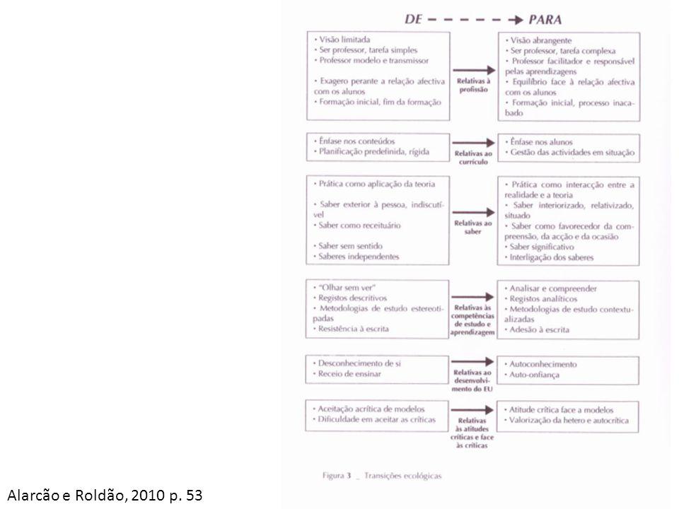 Alarcão e Roldão, 2010 p. 53