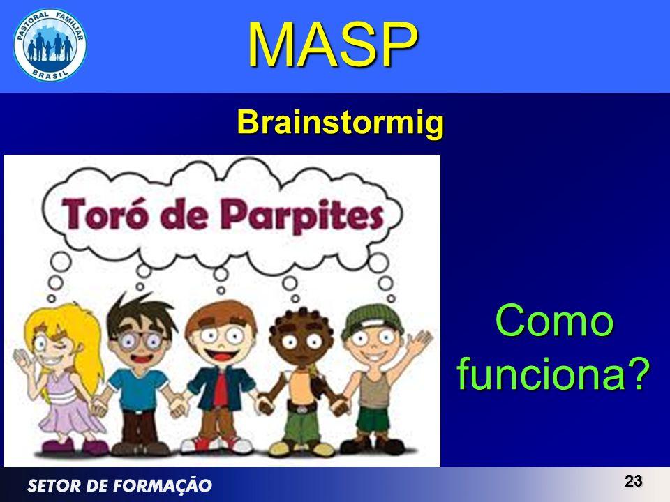 2323 MASP Brainstormig Como funciona?